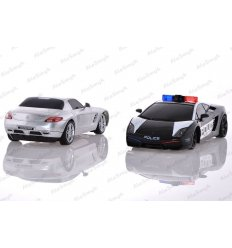 Policja Lamborghini Pirat Drogowy Mercedes
