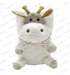 Pluszowy kocyk maskotka 2w1 hipoalergiczny - żyrafa