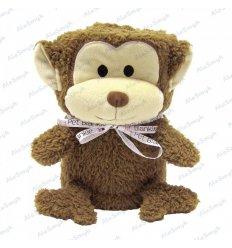 Pluszowy kocyk maskotka 2w1 hipoalergiczny - małpka