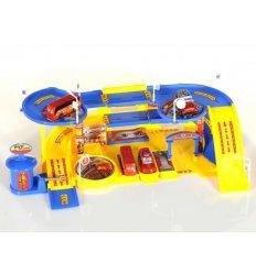 Wielopoziomowy Parking Straży Pożarnej - wersja niebieska