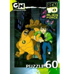 Puzzle 60 elementów BEN10